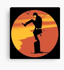 john sunset Canvas Print