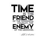 time is the friend - warren buffett by razvandrc