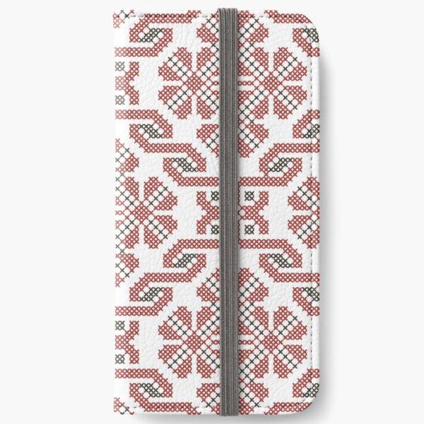 Ukrainian Flower iPhone Wallet