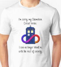 Chamelon Circuit is Broken Unisex T-Shirt