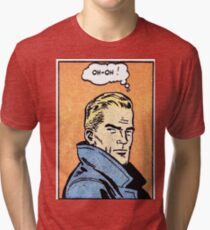 oh-oh large Tri-blend T-Shirt