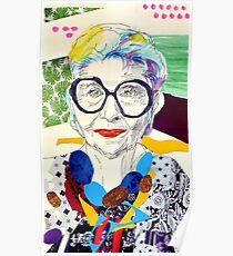 Iris Apfel fanart Poster
