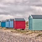 Findhorn Beach Huts Scotland by jacqi