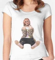 lil pump  Women's Fitted Scoop T-Shirt