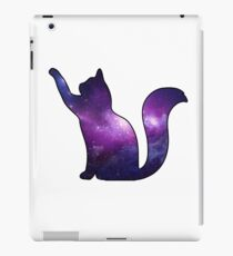 Galaxy Cat Playing iPad Case/Skin