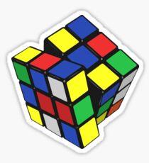 80's Puzzle Cube Sticker