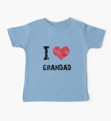 I Love Grandad Kids Clothes