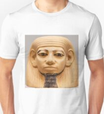 Ancient Egyptian bust Unisex T-Shirt