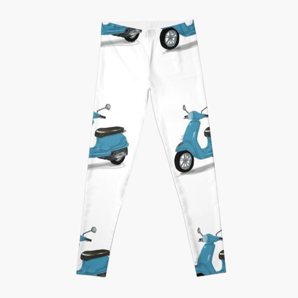 Blaue Vespa Leggings