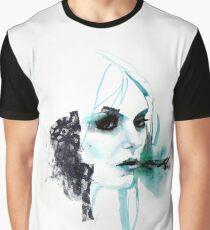 Watercolor Taylor Momsen fan art portrait Graphic T-Shirt
