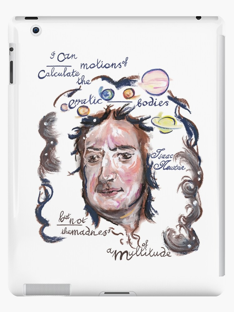 Isaac Newton Picture Quote - Madness of a Multitude by Douglas Rickard