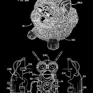 Furby Patent Assembly Print by Go-Postal