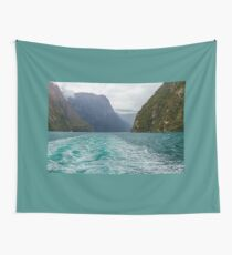 Milford Sound, New Zealand Wall Tapestry