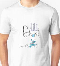 LiLi Ghost - Surf Board Unisex T-Shirt