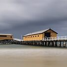 Queenscliff Pier by Jim Worrall