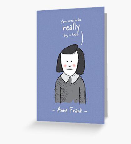 Anne Frank Greeting Card