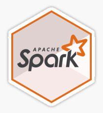 apache spark hexagonal Sticker
