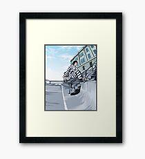 Gonz - Alcatraz Framed Print