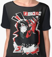 Persona 5 - Joker Women's Chiffon Top