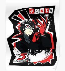 Persona 5 - Joker Poster