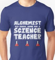 Funny Science Teacher Design - Alchemist T-Shirt