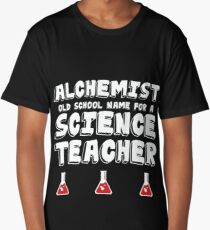 Science Teacher Design Long T-Shirt