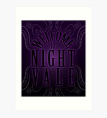 Welcome... to Night Vale Art Print