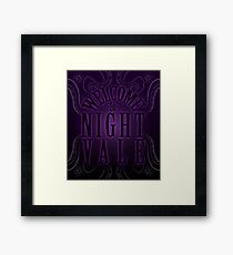 Welcome... to Night Vale Framed Print
