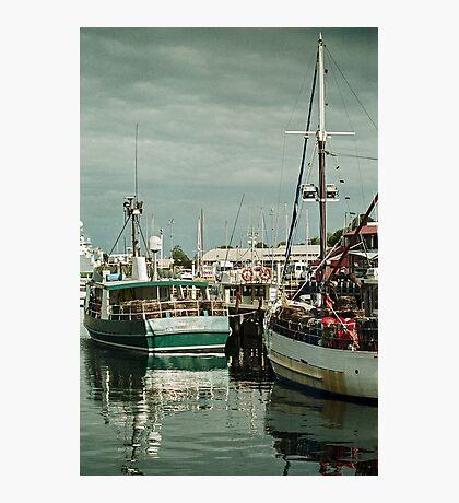 Autumn 2017 Victoria Dock Photographic Print