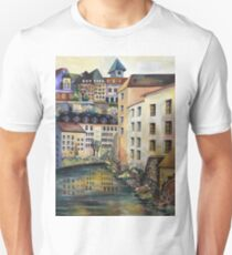 The Old Town in Stockholm Unisex T-Shirt