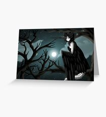 A Good Night for Hunting Souls... Greeting Card
