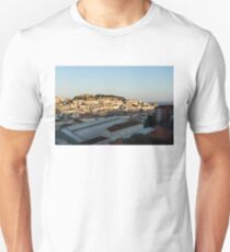 Hot and Cold Lisbon Skyline T-Shirt
