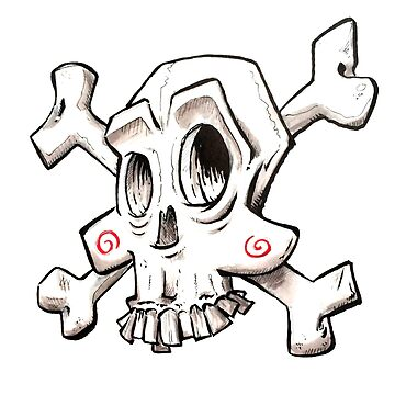 Comic Skull by Nxolab