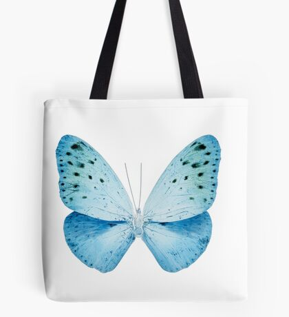 MISS BUTTERFLY EUPLOEA X-RAY White Edition Tote Bag
