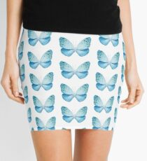 MISS BUTTERFLY EUPLOEA X-RAY White Edition Mini Skirt