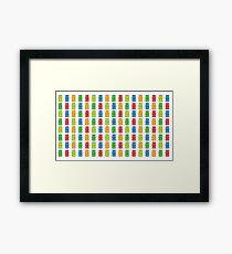 Rainbow Gummy Bears Framed Print