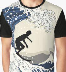 The Great Surfer of Kanagawa Graphic T-Shirt