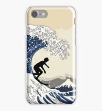 The Great Surfer of Kanagawa iPhone Case/Skin