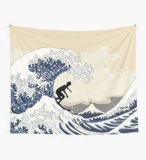 Der große Surfer von Kanagawa Wandbehang