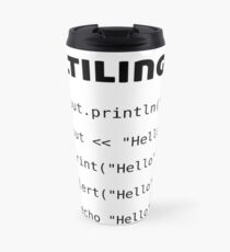 Multilingual Coder - Gifts for Computer Science Travel Mug