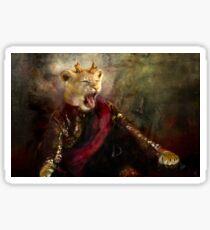 joffrey : king lion Sticker
