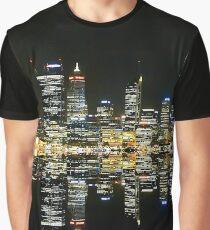 Perth SkyLine Graphic T-Shirt