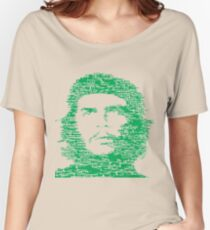 Che Guevara Green   Icons Women's Relaxed Fit T-Shirt