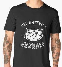 Delightfully Awkward - Cute & Quirky Kitty Cat Men's Premium T-Shirt
