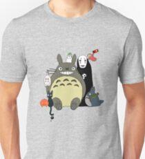 Studio Ghibli: Totoro, Jiji, Calcifer, Forest Spirit, Ponyo, Rat, Fly, Soot Sprite (customisable) T-Shirt