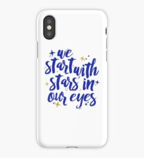 We Start With Stars In Our Eyes | Dear Evan Hansen iPhone Case/Skin