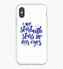 Wir fangen mit Sternen in unseren Augen an | Lieber Evan Hansen iPhone-Hülle & Cover