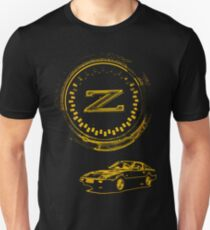 Z Badge and 300ZX Z31 - Gold T-Shirt