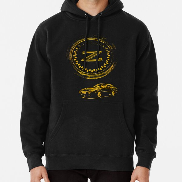 Z Badge and 300ZX Z31 - Gold Pullover Hoodie
