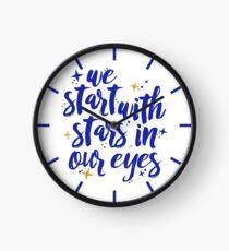 We Start With Stars In Our Eyes | Dear Evan Hansen Clock